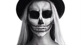 How to do an incredible Skeleton Makeup for Halloween step by step