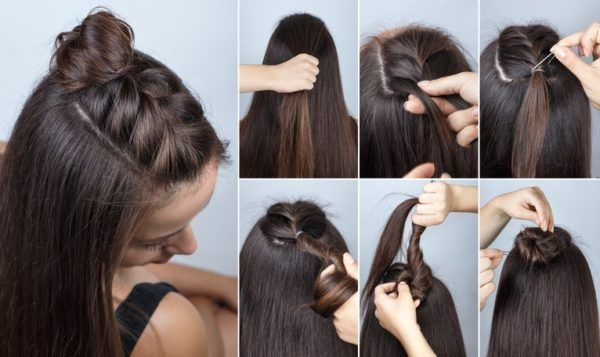 Peinados con pelo liso