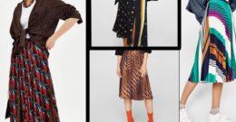 Faldas plisadas: cómo llevarlas esta Primavera Verano 2018