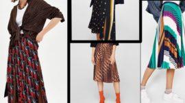 Faldas plisadas: cómo llevarlas este Otoño Invierno 2018 – 2019