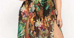 Vestidos de noche para gorditas Verano 2018