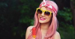 Cómo llevar el Pelo rosa en verano 2018: el color de moda