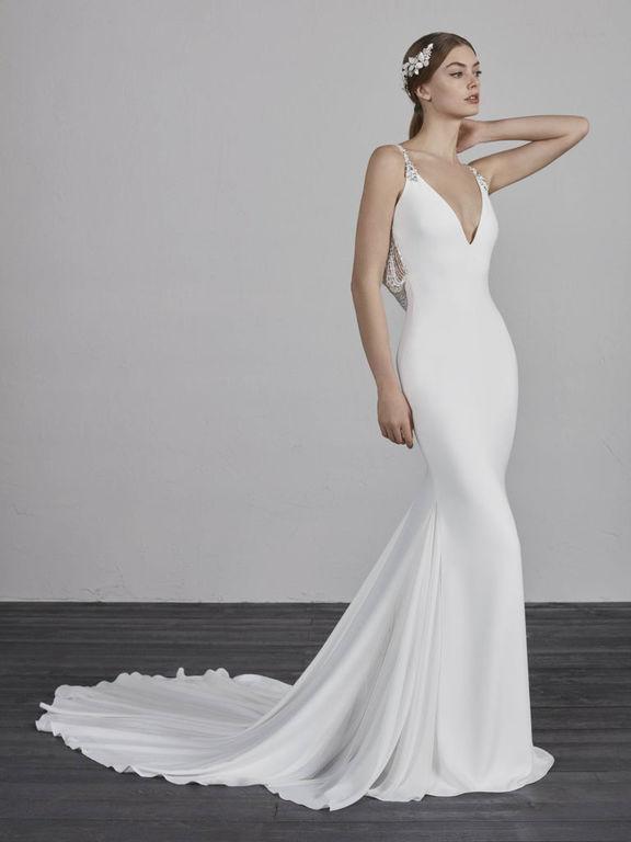 9a944f33 Los vestidos de novia sencillos Primavera Verano 2019 - ModaEllas.com
