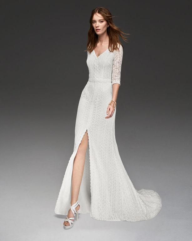 Los Vestidos De Novia Sencillos Otoño Invierno 2019 2020