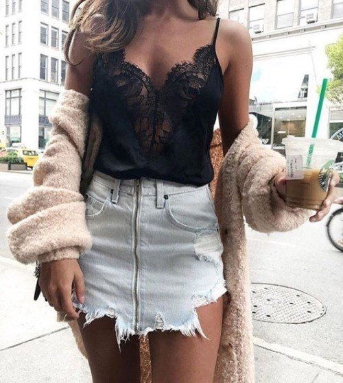 Los 50 Outfits Tumblr Mu00e1s Increu00edbles De Otou00f1o Invierno 2018 - 2019 - ModaEllas.com