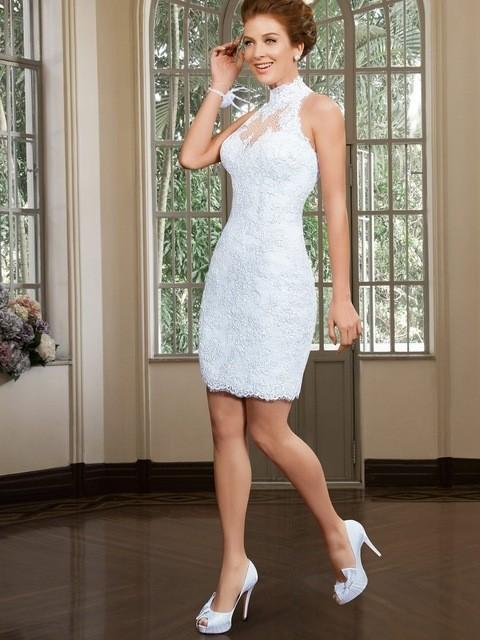 Vestidos elegantes para boda civil de dia