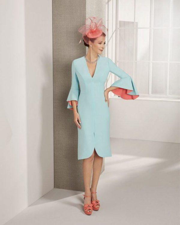 Precios de vestidos de madrina de rosa clara