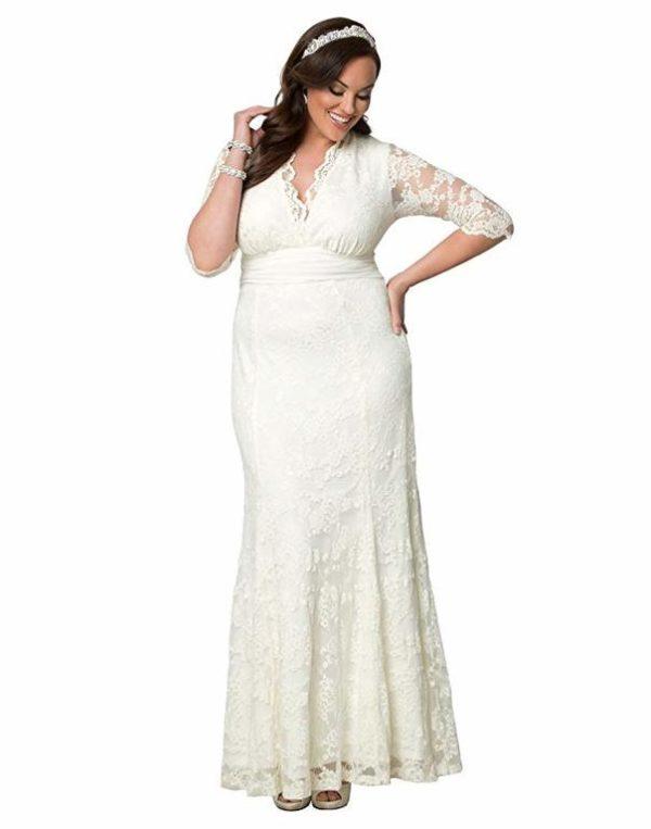 802b7ca64 Con esta mención especial que queremos hacer además a los vestidos de boda para  gorditas