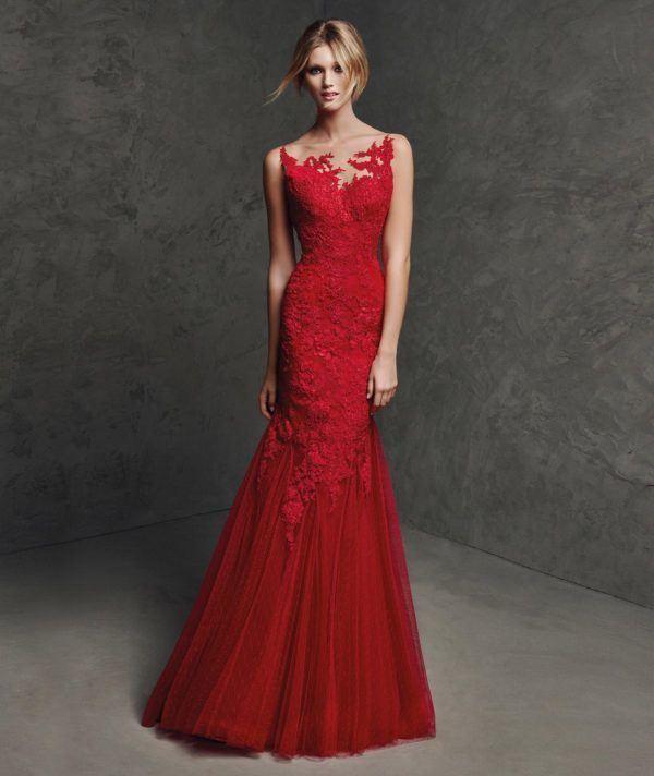c068385d6 Los mejores vestidos de fiesta rojos para este Primavera Verano 2019 ...