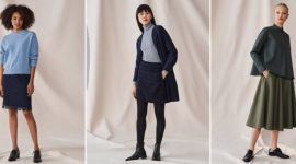 Catálogo de pantalones y faldas Uniqlo Invierno 2019