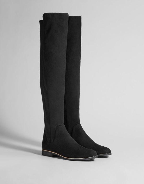 7046ba6d Lo cierto es que nos encantan las botas altas que son planas, ya que son  mucho más cómodas que las que tienen tacón y lo mejor de todo es que  actualmente ...
