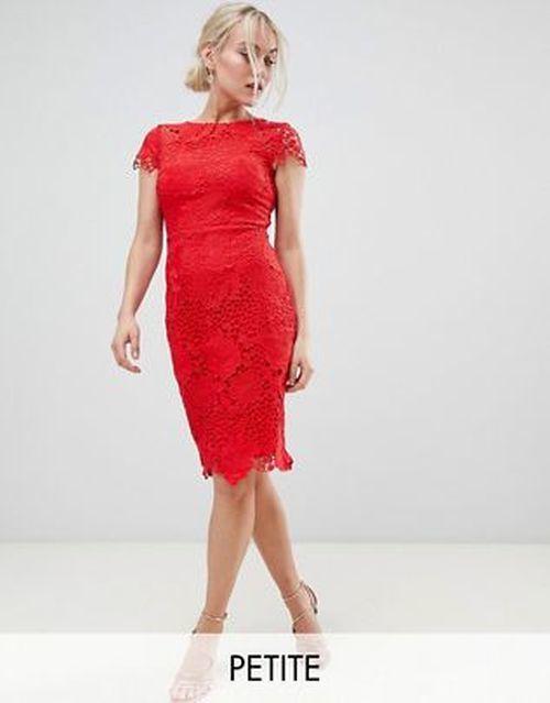 vestidos-para-ir-a-una-comunion-asos-entubado-rojo