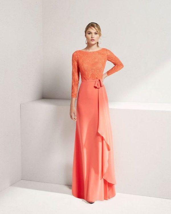 vestidos-para-ir-a-una-comunion-rosa-georgette
