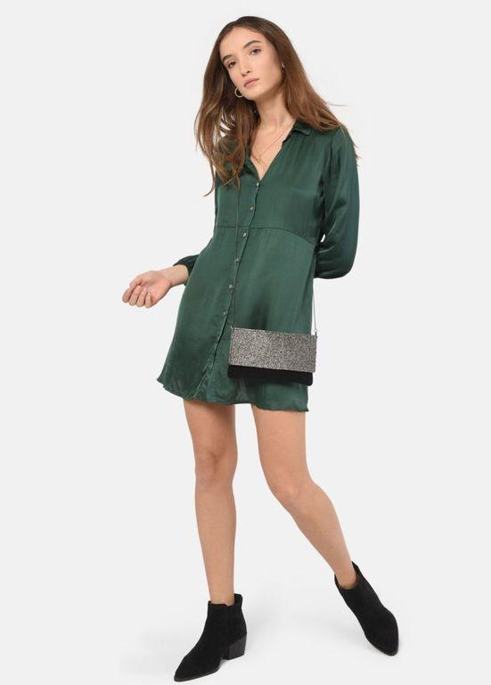 las-mejores-marcas-de-ropa-espanolas-vestido-nika-saten-abotonado-brownie