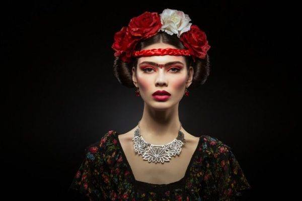 Como hacer un disfraz de frida kahlo