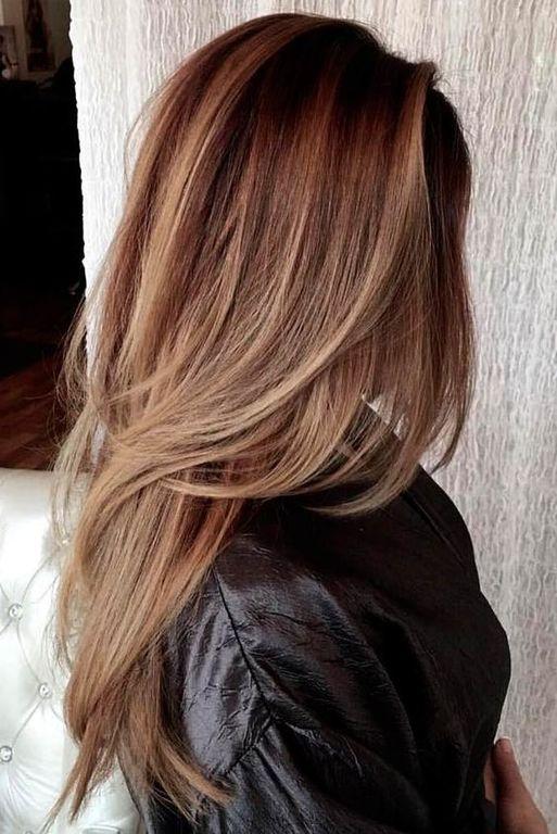 Cortes de cabello medio largo 2020