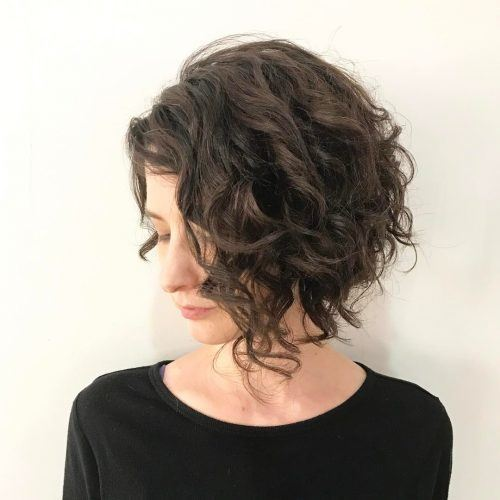 Corte Bob Para Pelo Rizado Ideas De Peinado