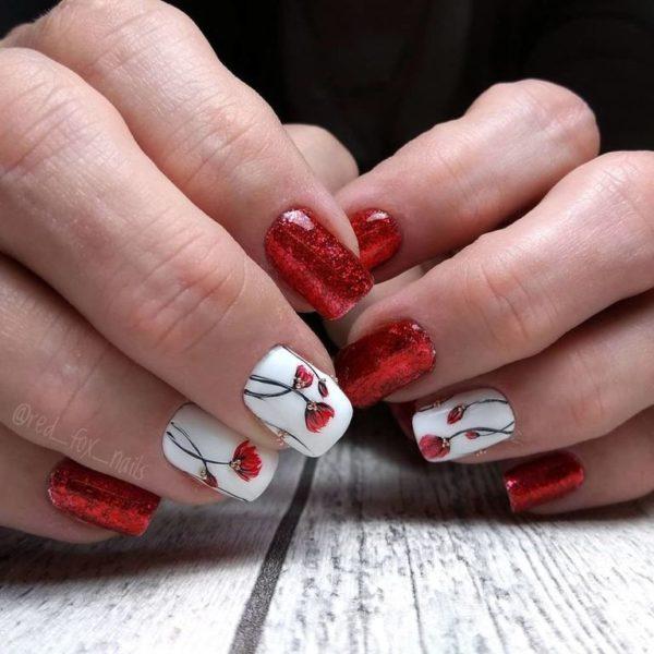 Uñas San Valentín 2020 Modaellascom