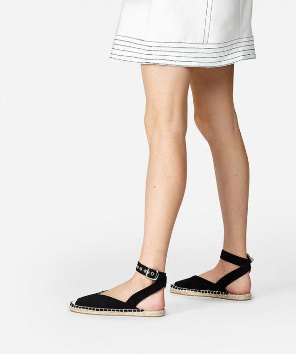 5547fd47 En este caso, con pulsera al tobillo y de ante negro. Fresca, abierta por  el talón pero sorprendentemente cómoda. La tienes disponible en 3 colores y  su ...
