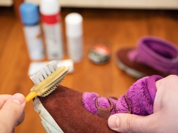Cómo limpiar el material nobuck