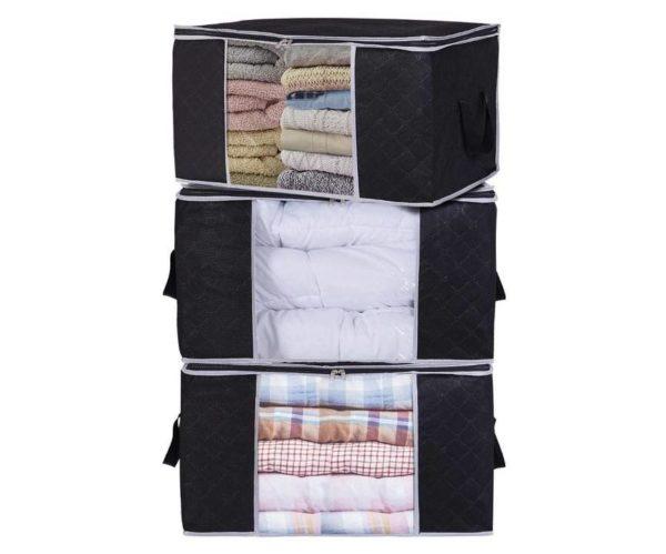 Bolsa de almacenamiento de ropa de gran capacidad de Lifewit