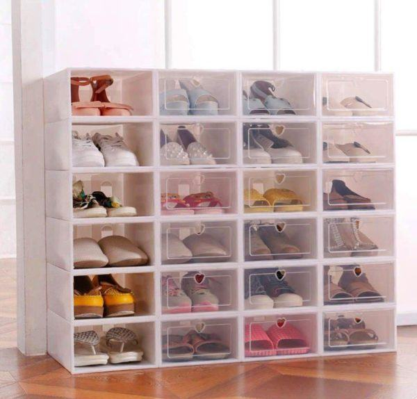 Cajas de zapatos de plástico de Sinbide