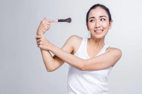 Qué hacer ante una reacción alérgica a un producto de belleza