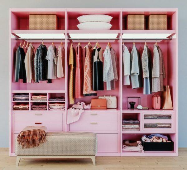 Trucos para almacenar la ropa y mantener los armarios ordenados