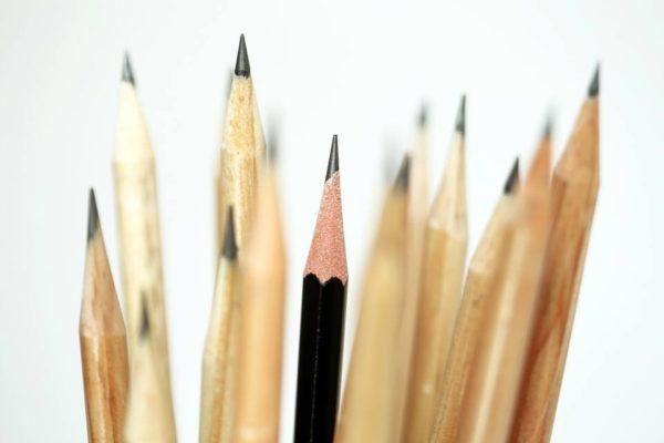 El lápiz de grafito es útil para detascar cremalleras