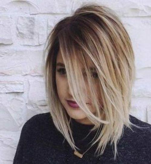 Mechas 2020 cabello corto