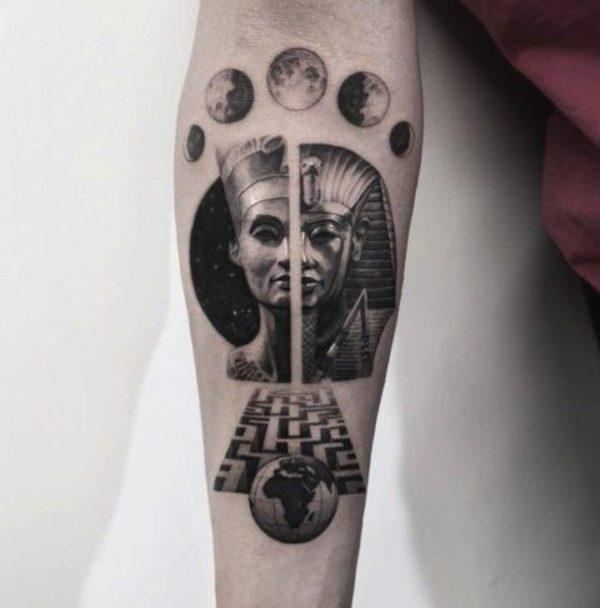 Significado del Tatuaje de la esfinge