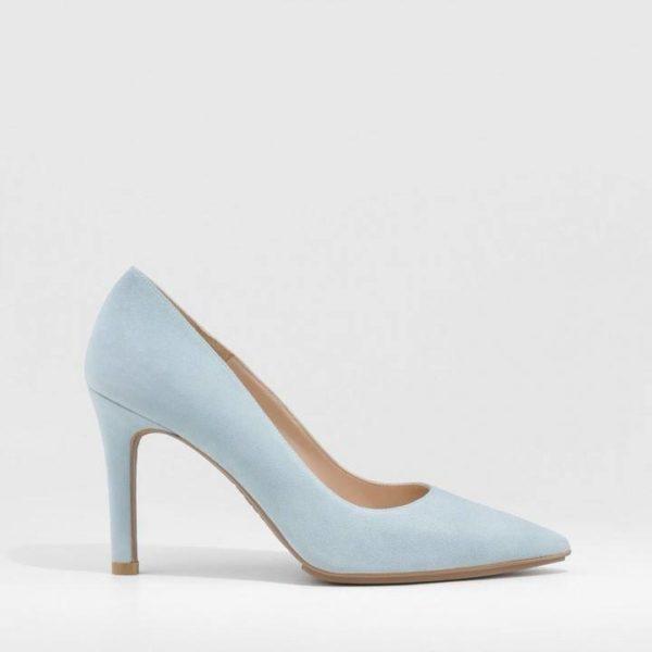 Zapato de salón en ante Rachel-TP Cielo