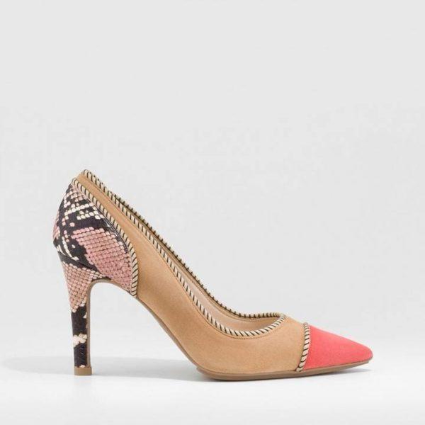 Zapato de salón Resin40TP Coral