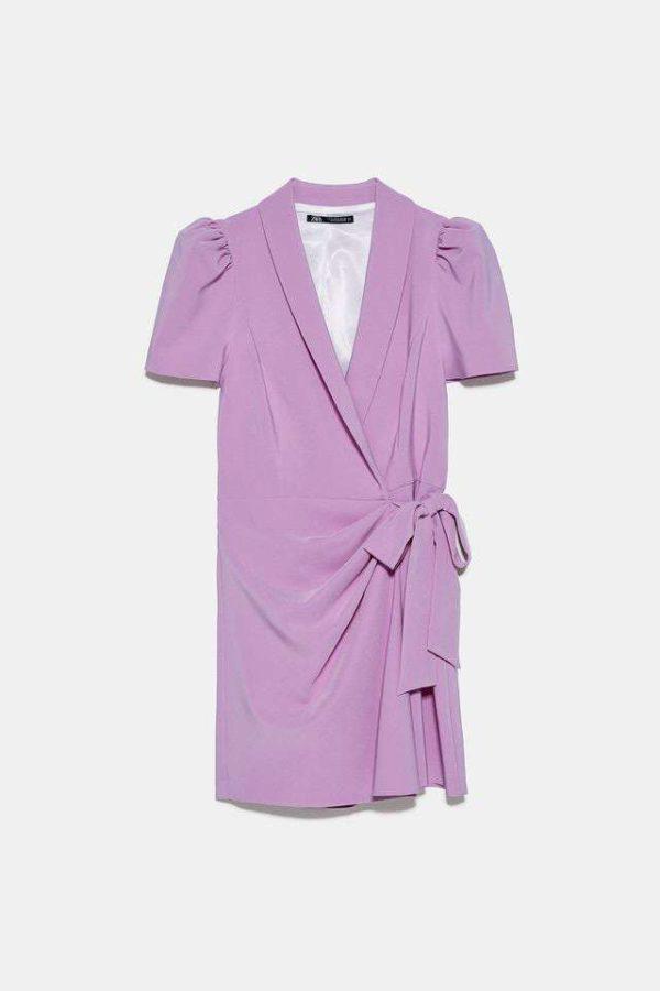 Vestido mono Blazer de color lila