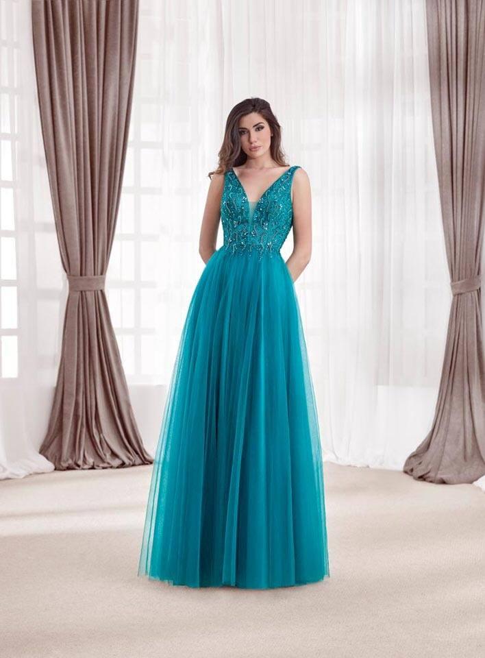 Vestido Fiesta XM 2014 4423R | Vestidos de fiesta
