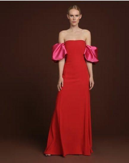 catalogo-el-corte-ingles-para-mujer-vestido-fiesta-rojo-mangas-caidas