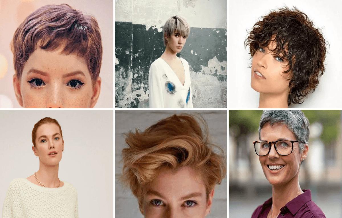 De última generación peinados pelo corto 2021 Galeria De Cortes De Cabello Estilo - Peinados de Pelo Corto Invierno 2021 - ModaEllas.com