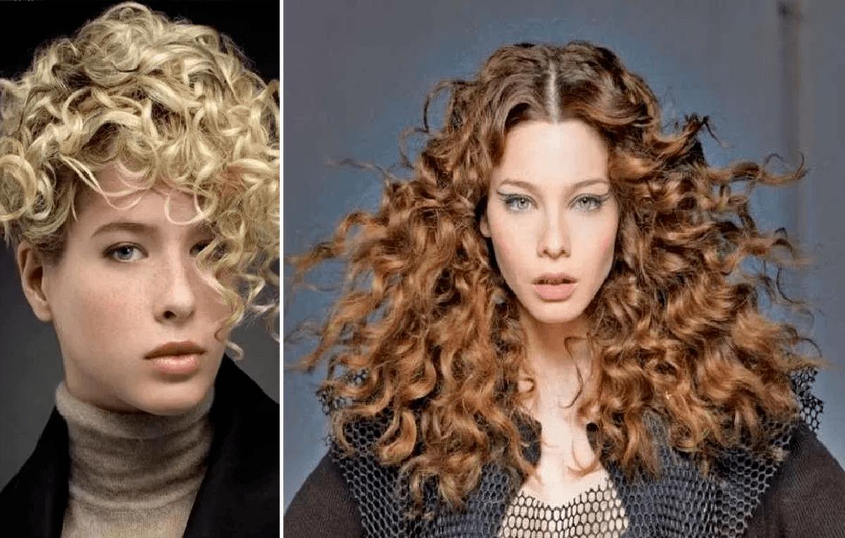 Cortes de cabello y peinados para mujer con pelo rizado Primavera Verano  2020 - ModaEllas.com