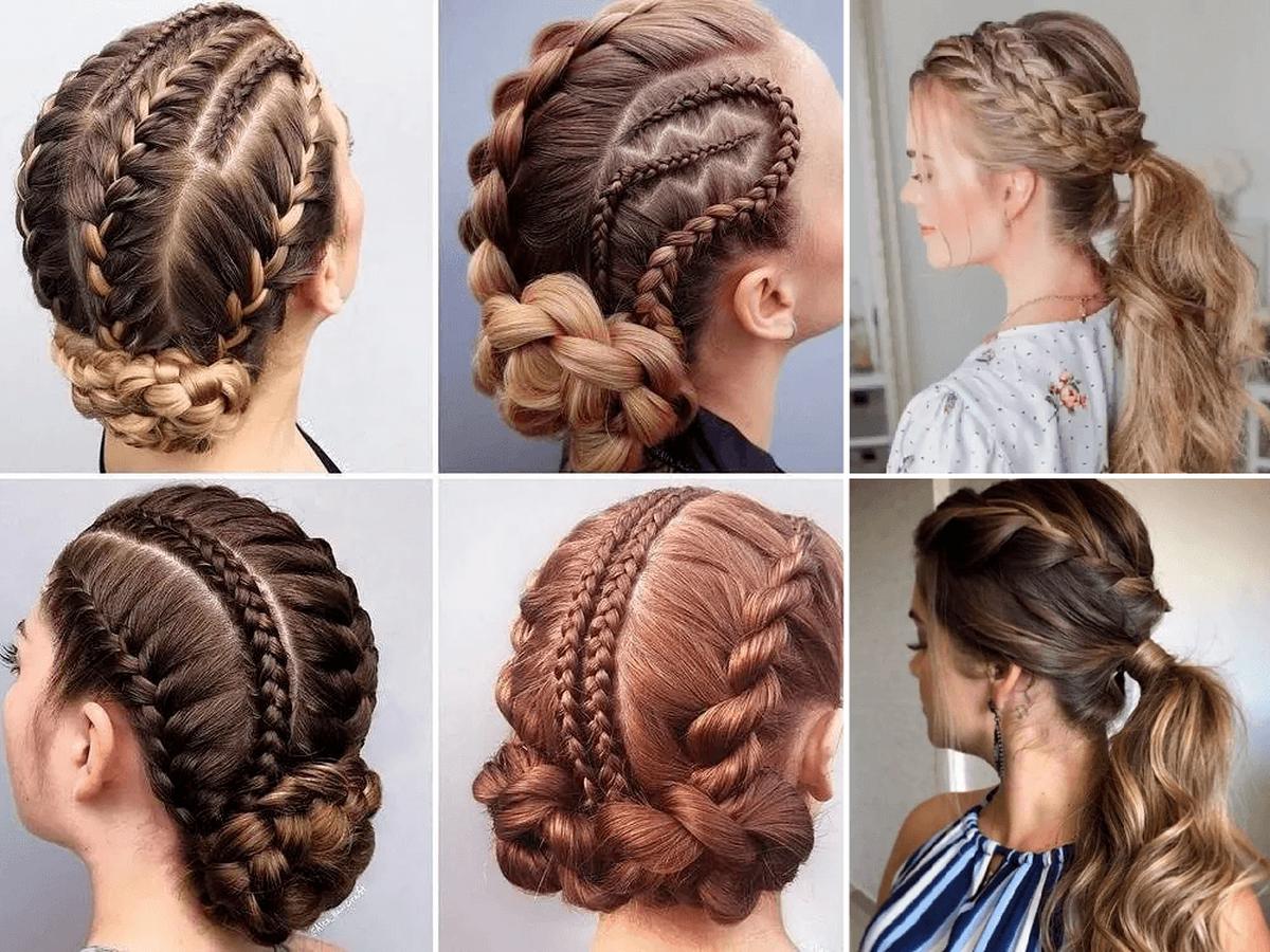 Más notable peinados moda 2021 Imagen de cortes de pelo tutoriales - + de 50 Peinados con Trenzas Primavera Verano 2021