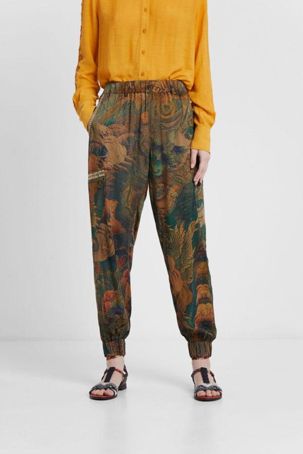 Pantalones rebajados Desigual tendencias 2020 | Compra