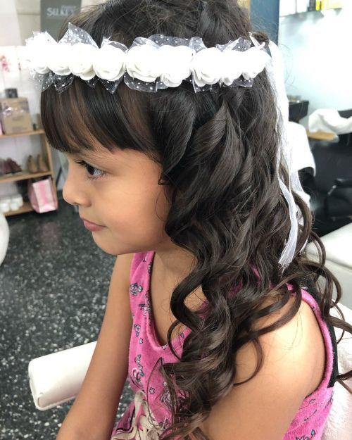 Más inspirador peinados para comunion 2021 Colección de estilo de color de pelo - Peinados de Primera Comunión 2021 - ModaEllas.com