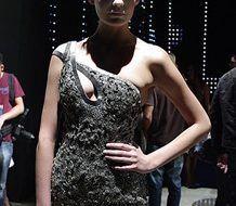 Vestidos de fiesta extravagantes moda verano 2009