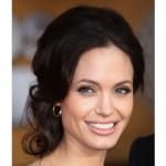 Angelina Jolie en cortes de pelo de celebridades retro