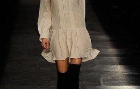 Botas altas sobre la rodilla | Tendencia de moda 2010