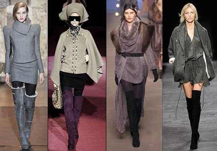 Botas altas sobre la rodilla tendencia de moda  2010_2