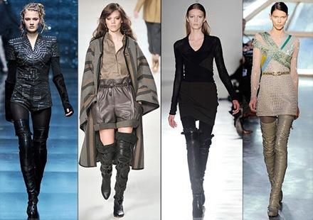 Botas altas sobre la rodilla tendencia de moda  2010_3