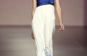 Vestidos de Elio Berhanyer primavera verano 2010 | Cibeles Madrid Fashion Week