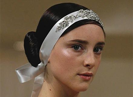 Cortes de pelo y peinados para novias 2009 5