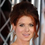 Debra Messing en cortes de pelo de celebridades retro
