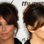 Eva Longoria en cortes de pelo de celebridades retro